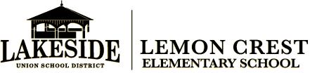 Lakeside Logos Dropshadow Lemon Crest